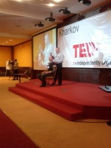 TEDxKharkov: Dr Kostyuk about to operate