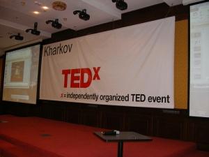 TEDxKharkov Stage